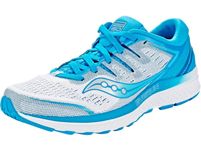 2edde1befcb ... Chaussures running sur route  saucony Guide ISO 2 - Chaussures running  Femme - bleu blanc. saucony ...